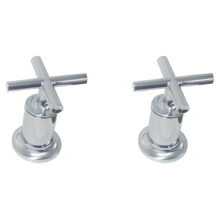 Kohler T14429-3-CP Kohler K-T14429-3-CP Purist Polished Chrome Bath-Or-Deck-Mt Valve Trim W/Handles