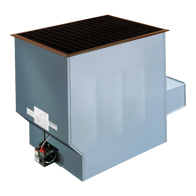 View 2 of Cozy 90N50A Cozy 90N50A Challenger Conventional-Vent Baked Enamel Furnace 50,000 BTU