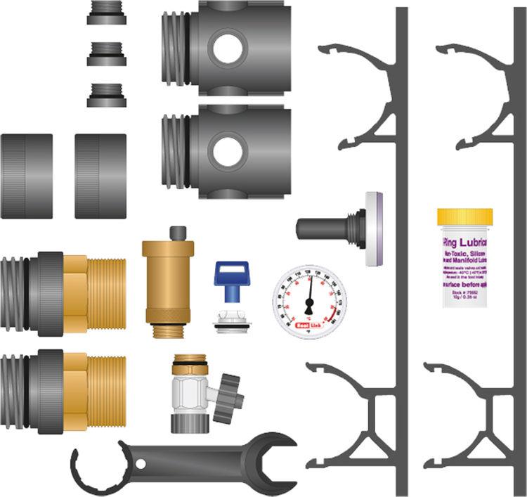 Heatlink 79402 Heatlink 79402 TwistSeal Commercial Manifold Assy Kit