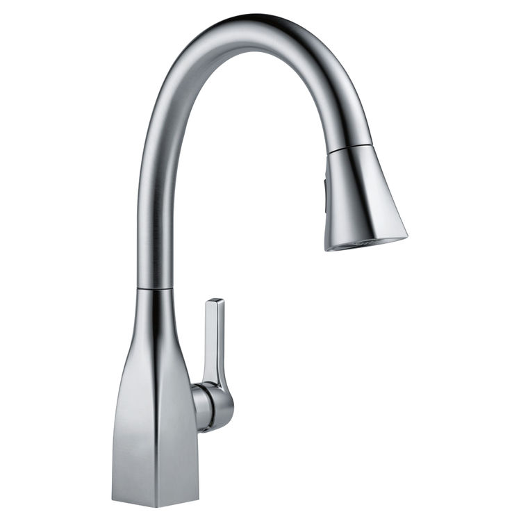 Delta 9183-AR-DST Delta 9183-AR-DST Mateo Arctic Stainless Pull-Down Kitchen Faucet