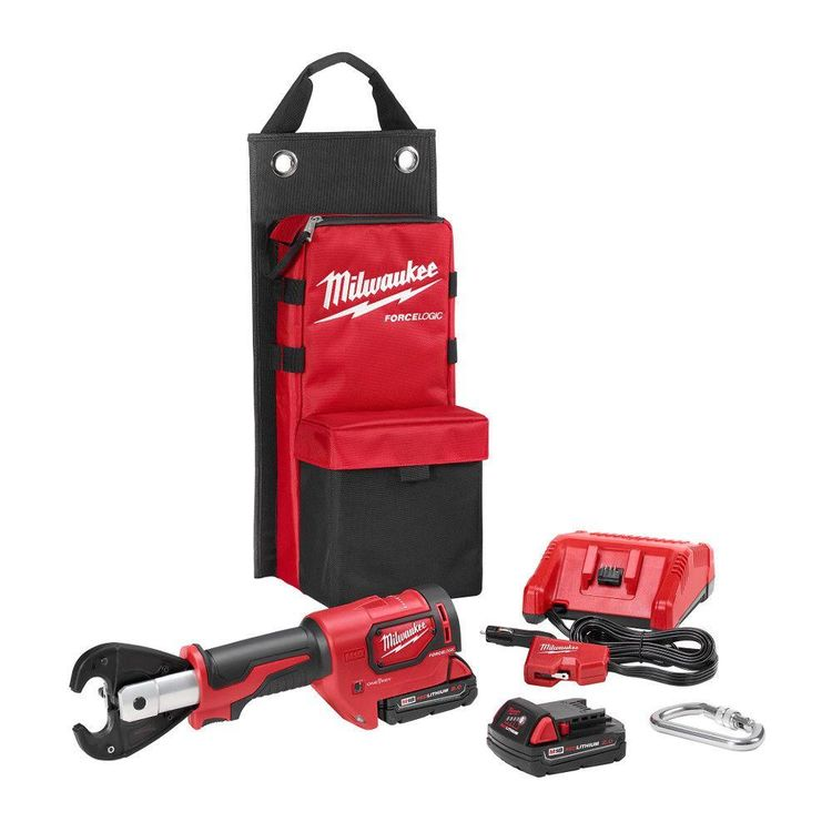 View 3 of Milwaukee 2678-22 Milwaukee 2678-22 M18 Force Logic 6T Utility Crimping Kit with D3 Grooves