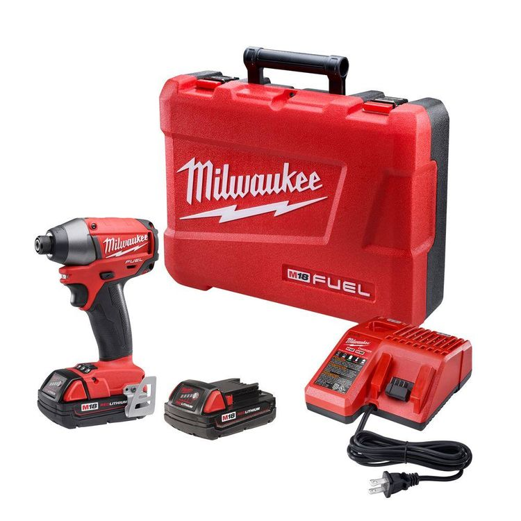 Milwaukee 2753-22 Milwaukee 2753-22 Cordless Hex Impact Driver Kit