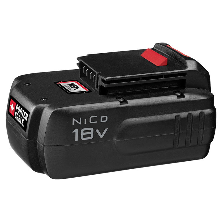 Porter-Cable PC18B Porter-Cable PC18B Battery Pack, 18 V, NiCd