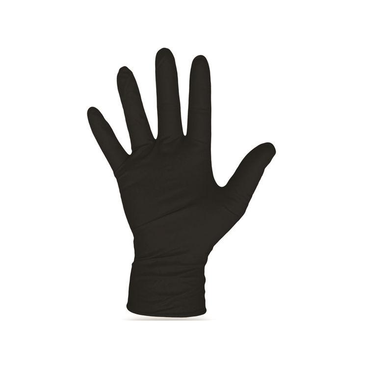 Boss 1UH0006BL Boss 1UH0006BL Glove Nitrile Dispose Black Lg