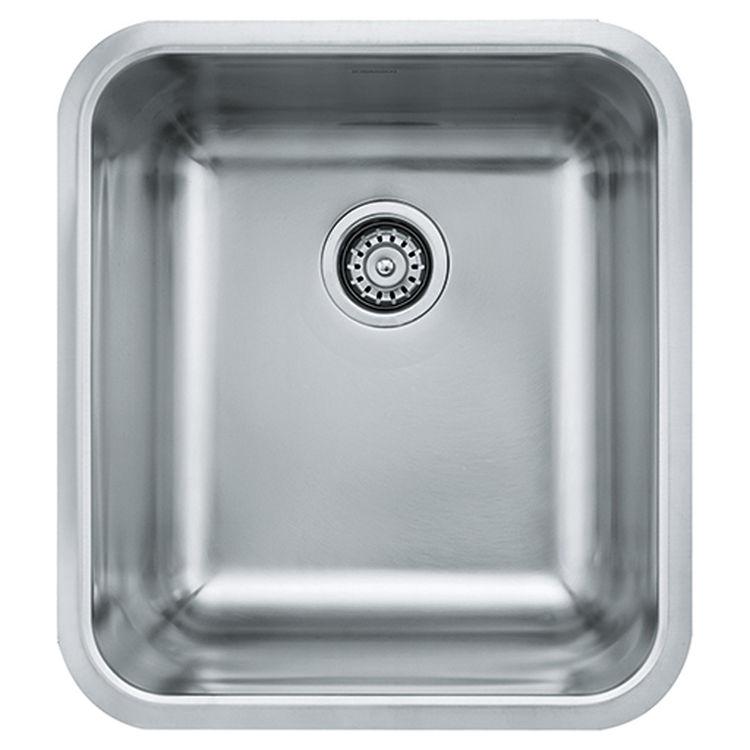 View 2 of Franke GDX11018 Franke GDX11018 Single Bowl Undermount Stainless Undermount Sink - Stainless