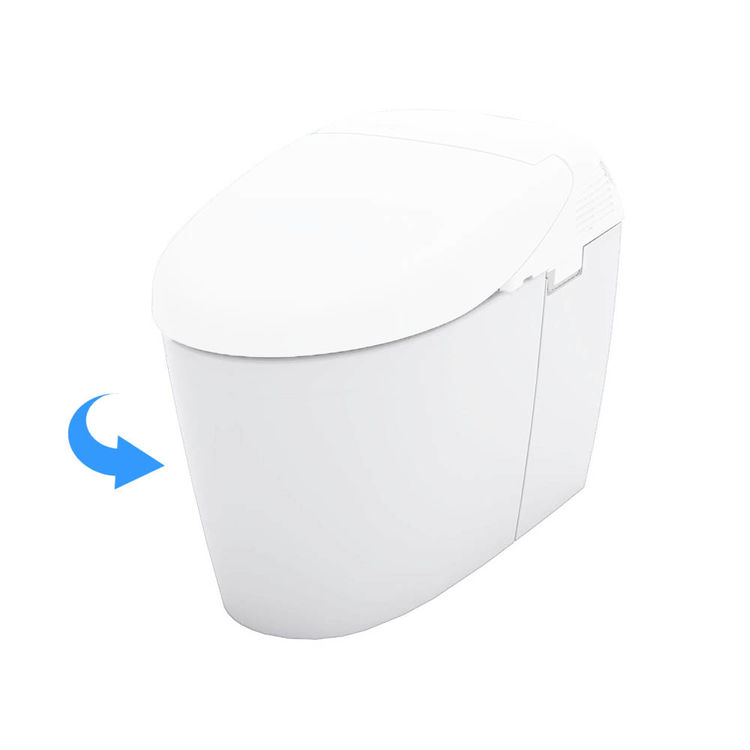 View 2 of Toto CT952CUMG#01 Toto Neorest 500H Elongated Toilet Bowl Only, Cotton White - CT952CUMG#01