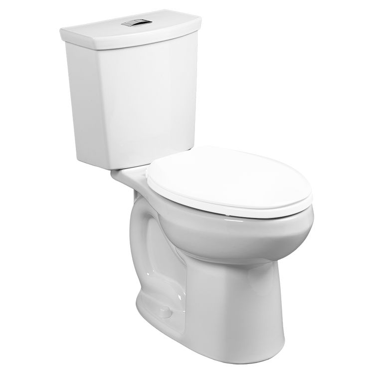 View 2 of American Standard 2887.218.020 American Standard 2887.218.020 White H2option Elongated Bowl Toilet