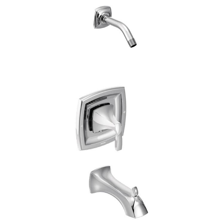 Moen T3693NH MOEN T3693NH MOENTROL TUB/SHOWER TRIM CHROME - LESS HEAD