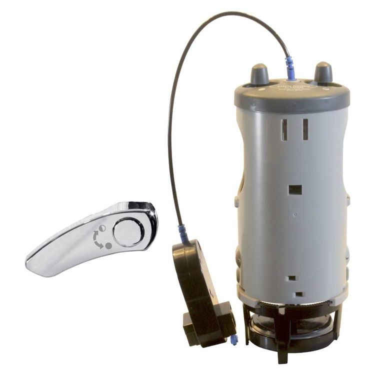 Fluidmaster 550DFR-1 Duo Flush 550DFR-1 Universal Dual Flush Conversion Valve, For Use With 2 in Toilet Tank, Plastic