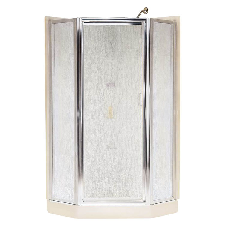 Sterling SP2276A-38S Sterling Intrigue SP2270 Neo-Angle Shower Door, 36-1/8 in W X 72 in H, Silver