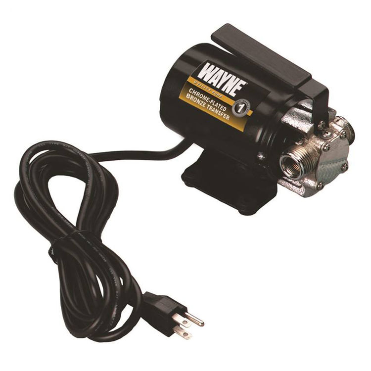 Wayne PC2 Wayne PC2 Self-Priming Corded Transfer Pump, 300 gal/hr, 3/4 in Inlet, 3/4 in Outlet, Thermoplastic