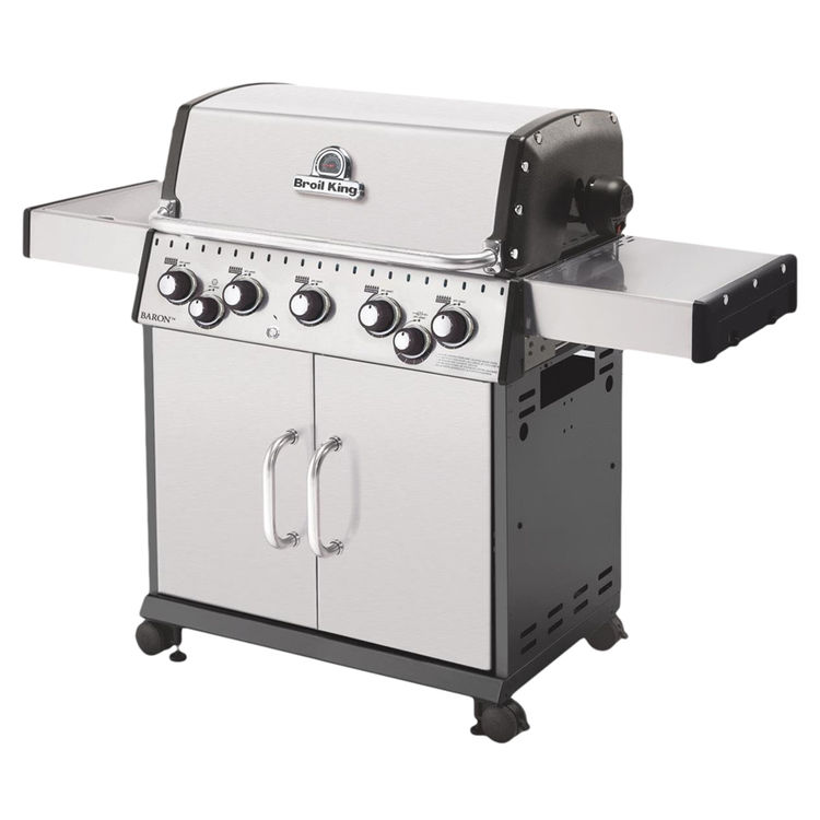 Broil King 923584 Broil King 923584 Gas Grill, 50000 BTU Main Burner Output, 10000 BTU Side Burner, 15000 BTU Rotisserie Burner
