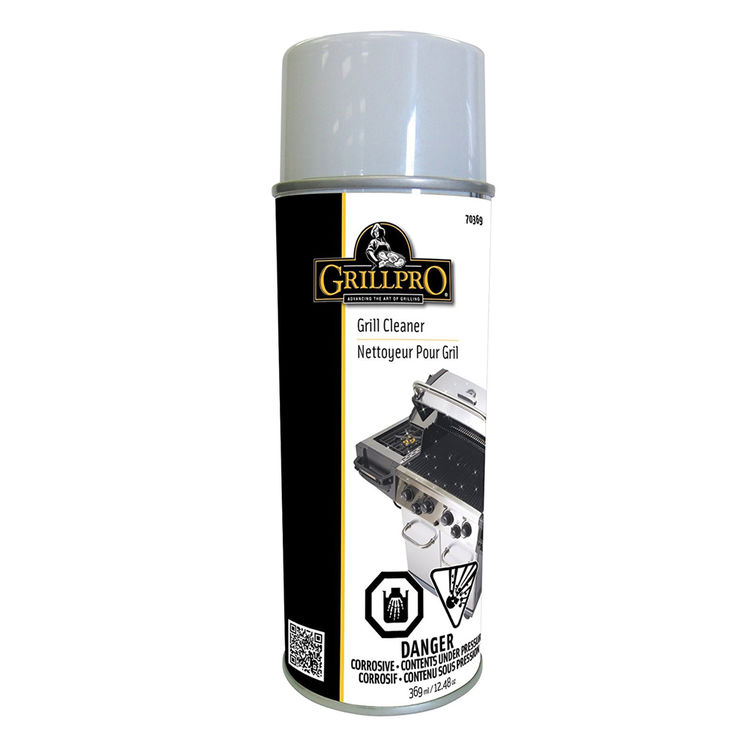 GrillPro 70395 GrillPro 70395 Stainless Steel Cleaner, 311 g, Aerosol, Silver