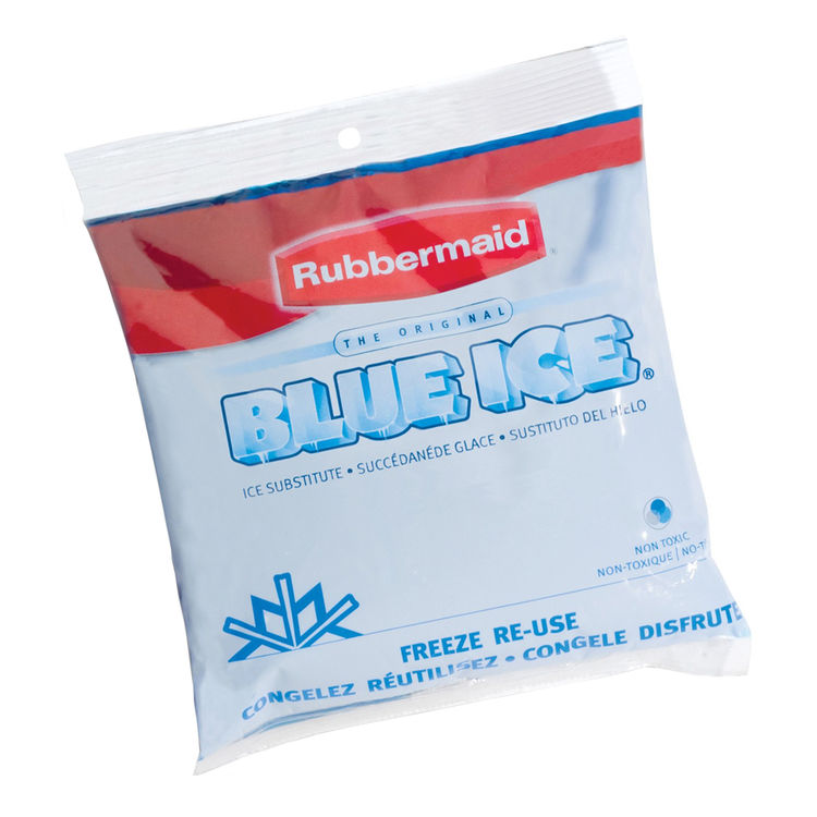 Rubbermaid 1006TL220 Rubbermaid 1006TL220 Ice Soft Pack, For Use With Personal Ice Chests, 6.7 X 0.9 X 8 in, Blue