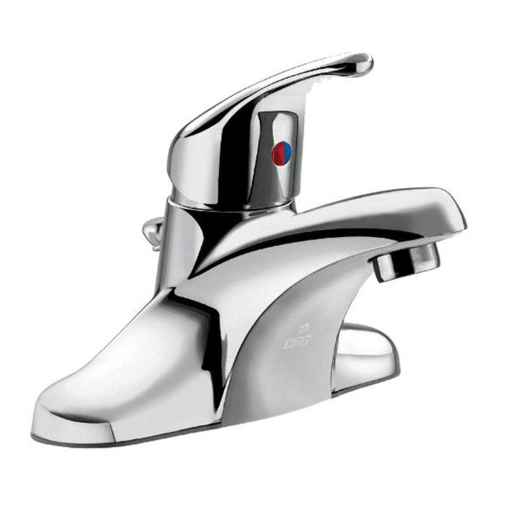 Cleveland Ca40711 One Handle Bathroom, One Handle Bathroom Faucet