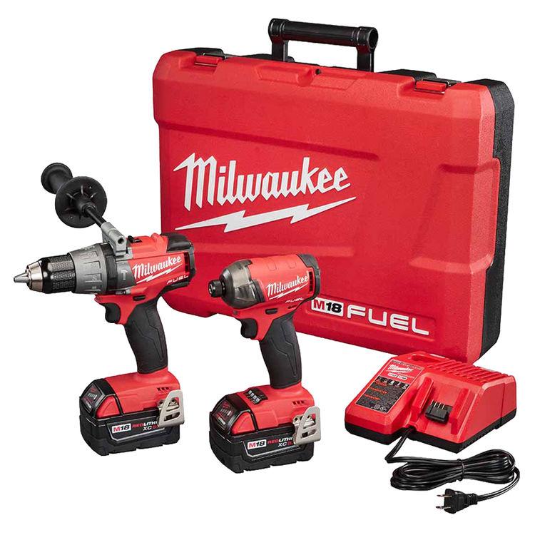 Milwaukee 2899-22 MILWAUKEE 2899-22 M18 FUEL SURGE HAMMER DRILL/DRIVER KIT