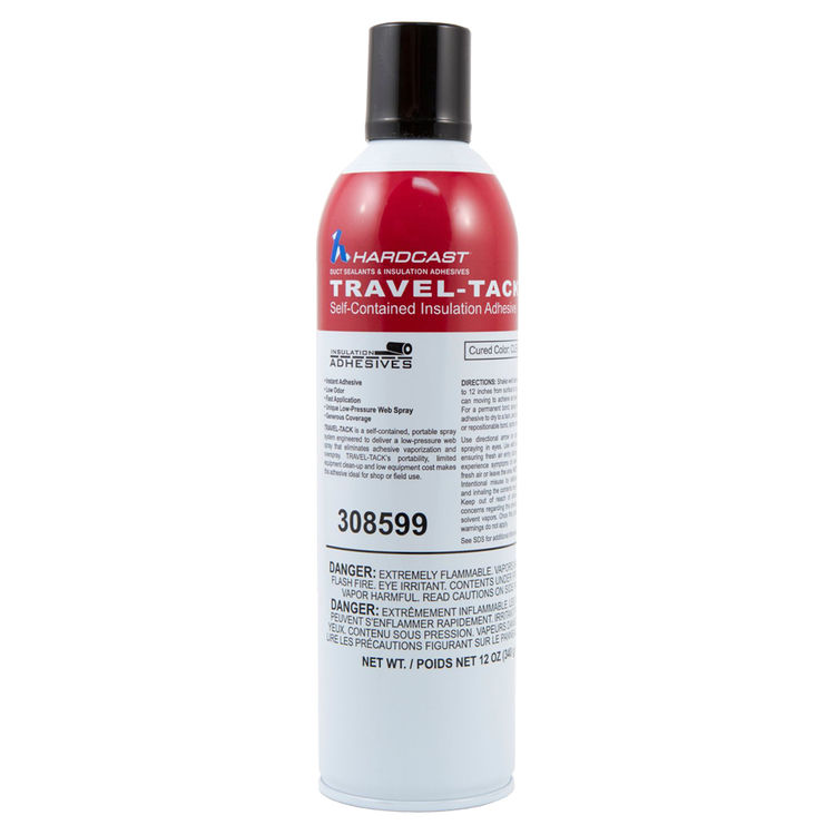 Hardcast 308599 Hardcast 308599 White Travel-Tack Installation Adhesive in a Spray Can