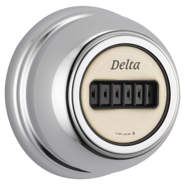 View 2 of Delta T50001 Delta T50001 Delta Body Spray Trim with H2Okinetic Technology (Chrome)