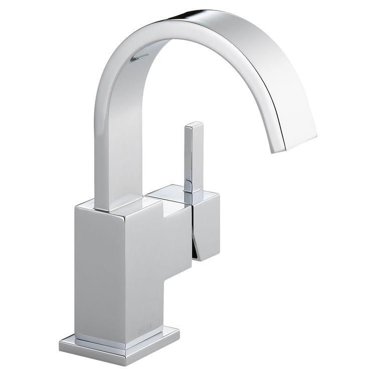 View 2 of Delta 553LF Delta 553LF Vero One Handle Bathroom Faucet - Chrome