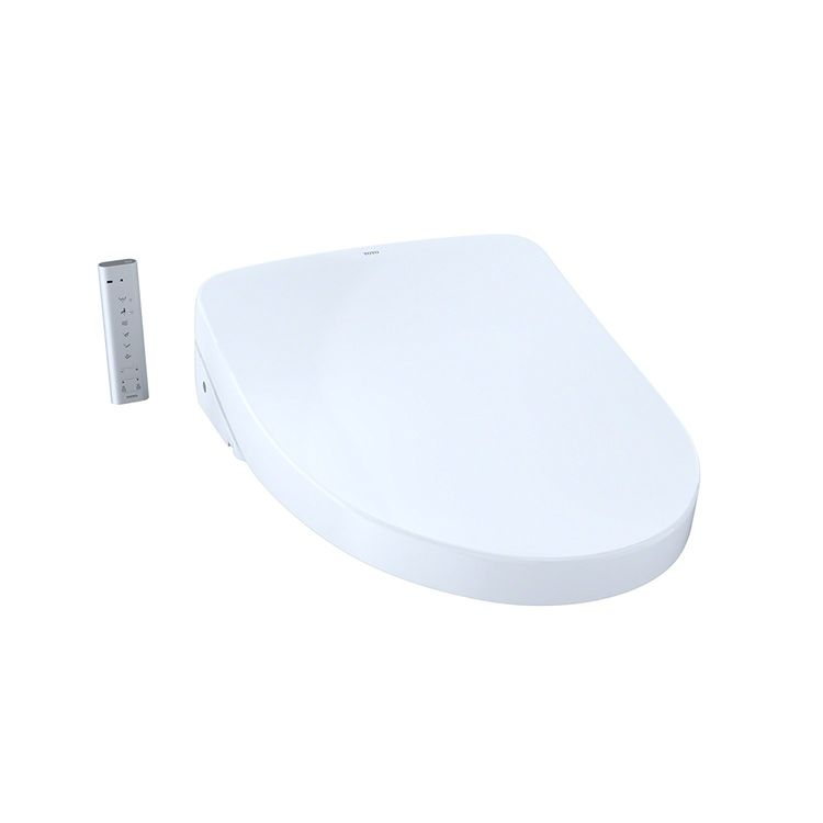 View 2 of Toto SW3046T40#01 TOTO WASHLET+ S500e SW3046T40#01 - Modern, Cotton White, Elongated