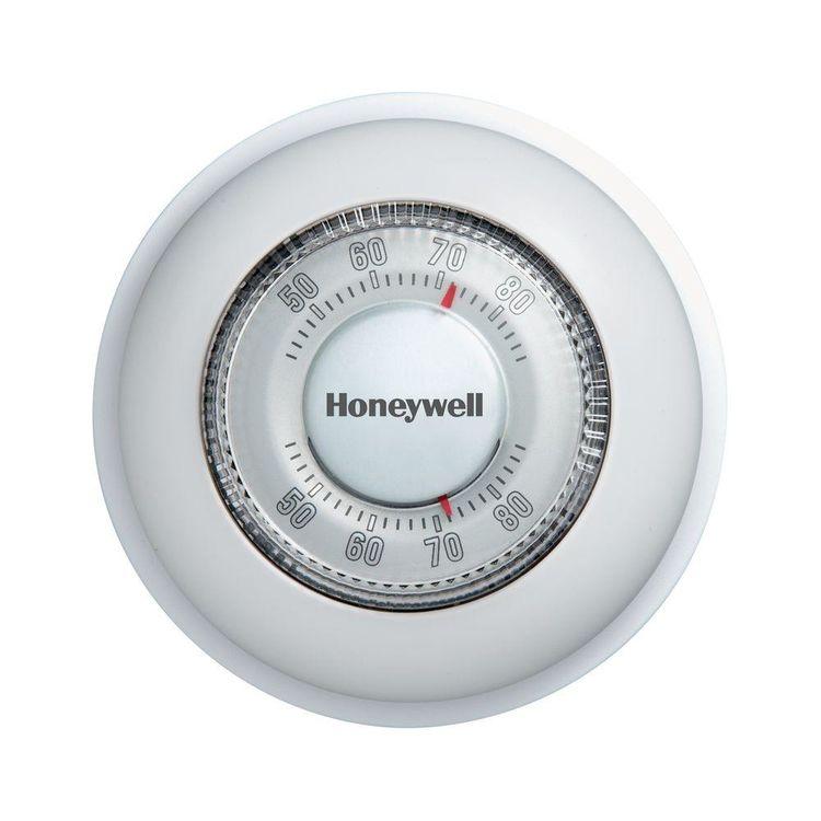 View 3 of Honeywell CT87K Honeywell CT87K Round Mechanical Thermostat (Heat Only)