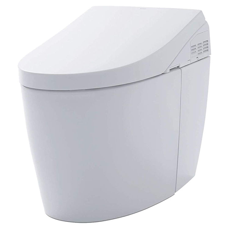 View 2 of Toto MS989CUMFG#01 TOTO MS989CUMFG#01NEOREST AH One-Piece Elongated Toilet w/ Washlet - Cotton White