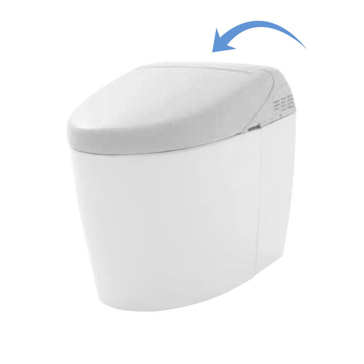 Toto SN988M#01 Toto SN988M#01 RH NeoRest RH Washlet Seat Only, Cotton White
