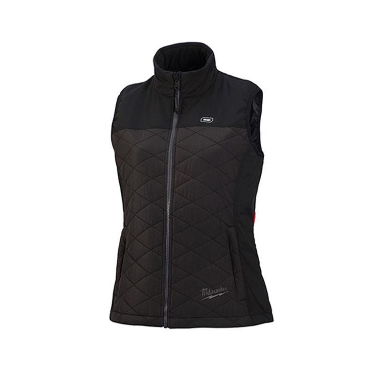 Milwaukee 333B-21S Milwaukee 333B-21S Axis M12 Women's Heated Vest Kit, Black, Small