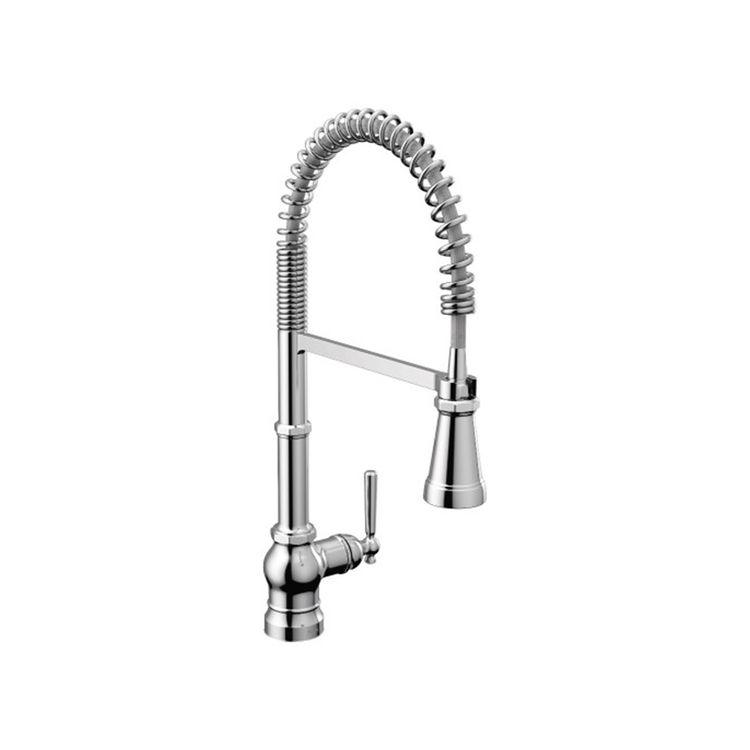 View 2 of Moen S72103 Moen S72103 Paterson One Handle Semi Pro Kitchen Faucet, Chrome