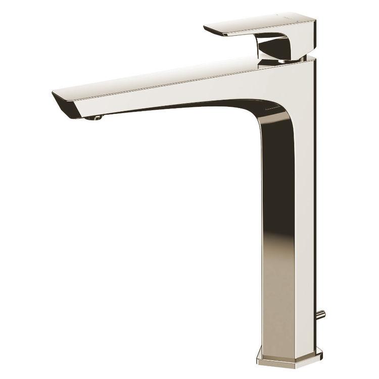Toto Ge 1 2 Gpm Single Handle Vessel Bathroom Sink Faucet With Comfort Glide Technology Polished Nickel Tlg7305u Pn