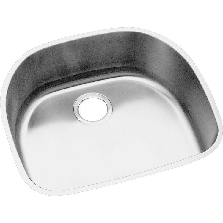 View 2 of Elkay EGUH2118 Elkay EGUH2118 Harmony Stainless Steel Single Bowl Undermount Sink