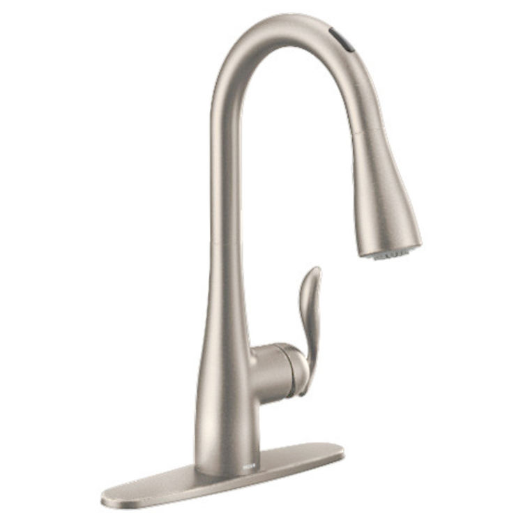 Moen 7594evsrs Arbor One Handle Pulldown Kitchen Faucet Stainless Voice Activated