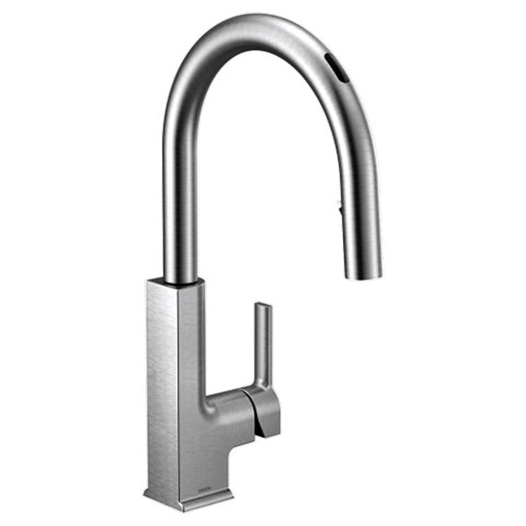 Moen S72308EVC Moen S72308EVC STO One-Handle Voice-Activated Pulldown Kitchen Faucet - Chrome