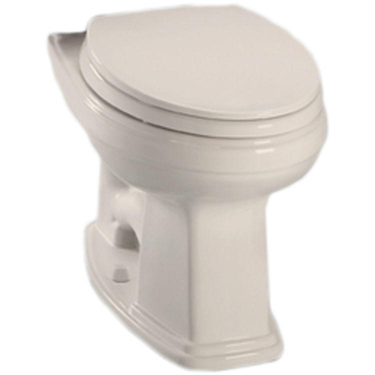Toto C424EF#12 Toto Eco Promenade Elongated Toilet Bowl Only, 1.28 GPF, Sedona Beige - C424EF#12