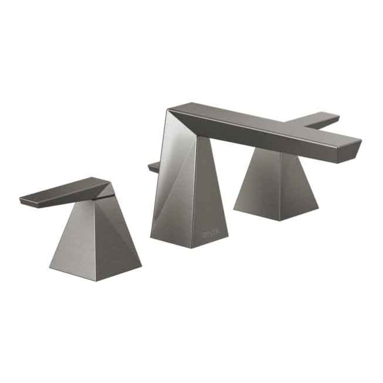 35543-ksmpu-dst widespread faucet in black stainless