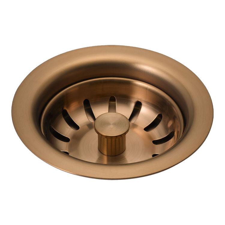 Delta 72010-BZ Brizo 72010-BZ Brushed Bronze Kitchen Sink Flange And Strainer