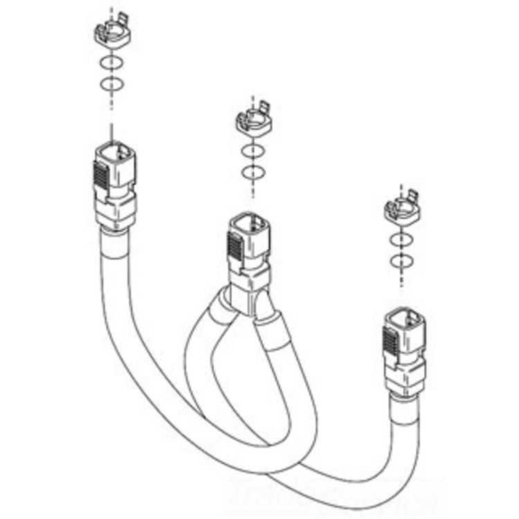 Blocks and O-Rings Delta Hose Assembly RP44493