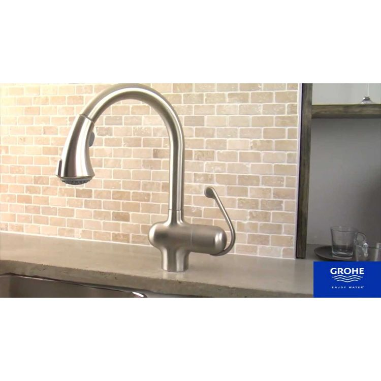 View 4 of Grohe 46173SD0 GROHE 46173SD0 Universal Pull-Out Spray - RealSteel
