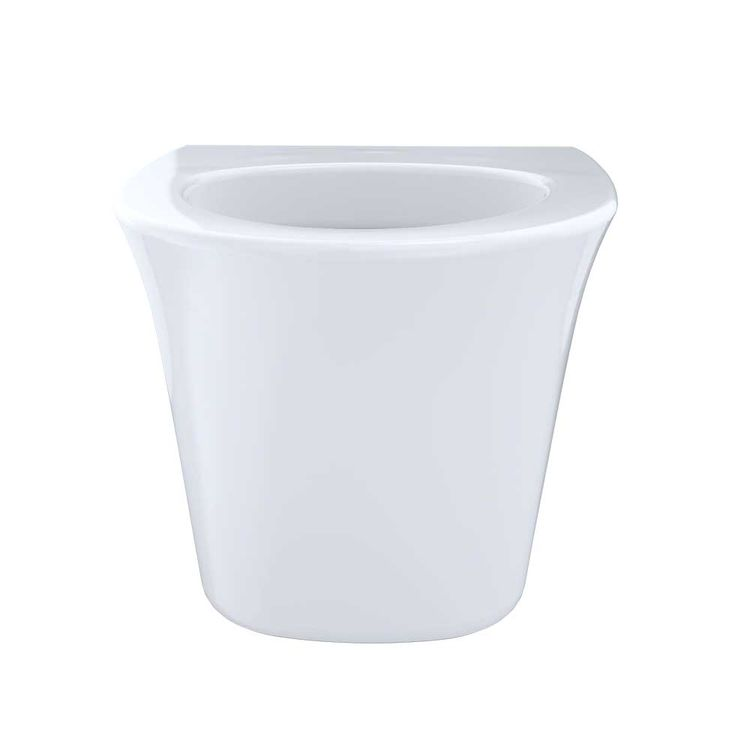 View 7 of Toto CT486FG#01 Toto Maris Wall-Hung Elongated Toilet Bowl with Skirted Design and CeFiONtect, Cotton White - CT486FG#01