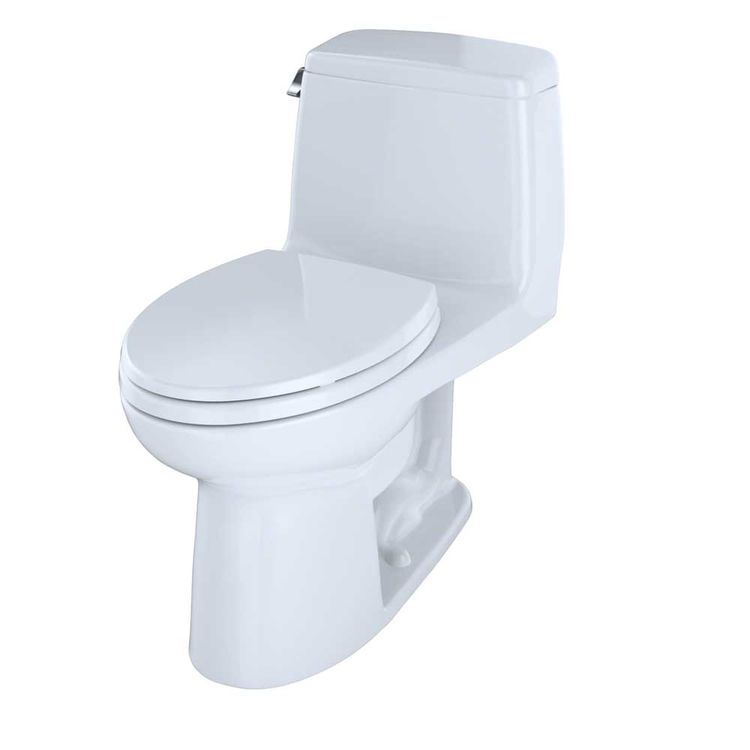 View 4 of Toto MS854114SL#01 TOTO UltraMax One-Piece Toilet - 1.6 GPF, Elongated, ADA, Cotton White - MS854114SL#01