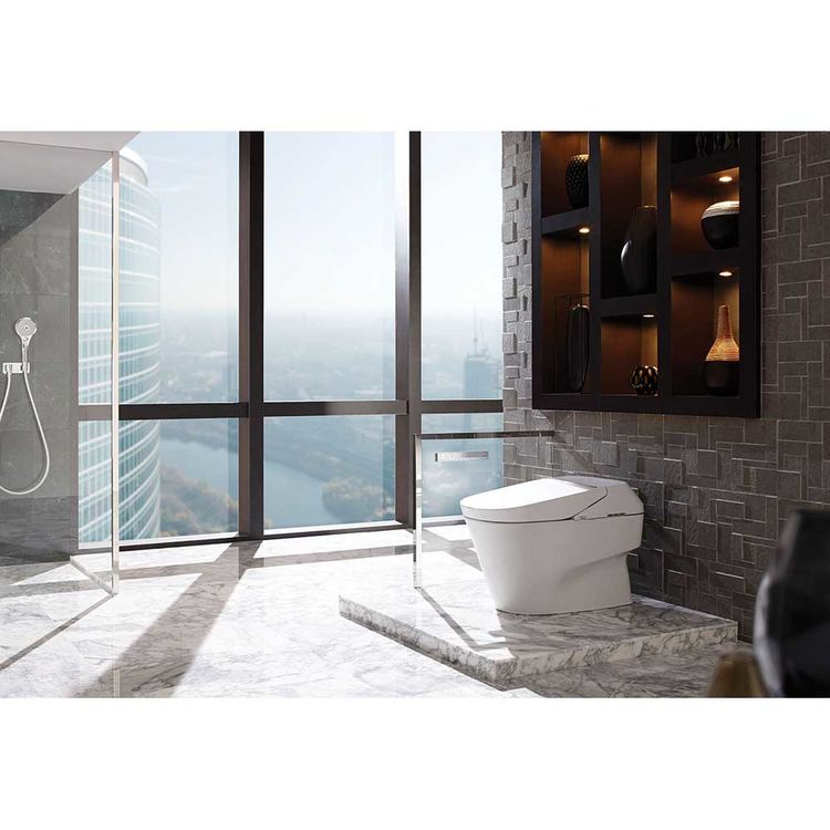 View 3 of Toto MS992CUMFG#01 TOTO Neorest 700H Dual Flush Toilet - 1.0 or 0.8 GPF, Cotton White - MS992CUMFG#01