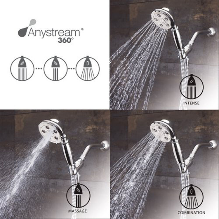 View 4 of Speakman VS-3011-BN-E2 Speakman VS-3011-Bn-E2 Alexandria Brushed Nickel Low-Flow Hand Shower