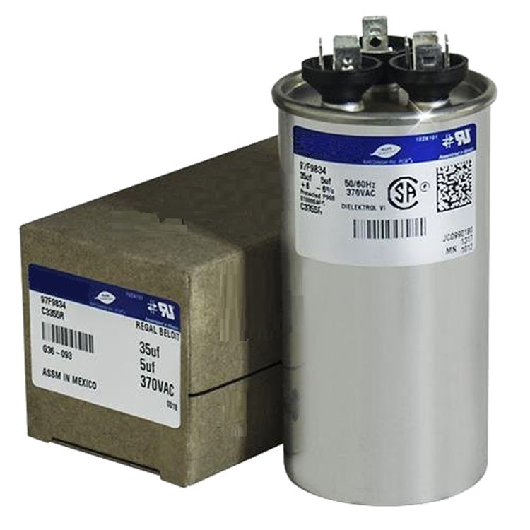 View 2 of Partners Choice 01-0093 Partners Choice 01-0093 20/5/440 Round Dual Run Capacitor