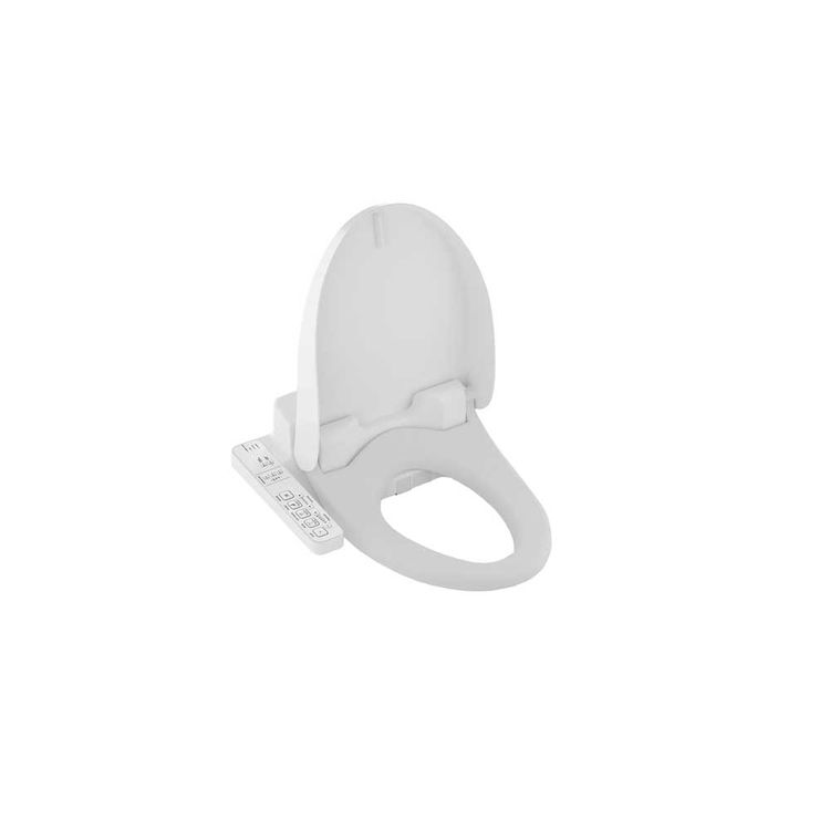 View 8 of Toto SW2034#01 Toto Washlet C100 Cotton White, Elongated - SW2034#01