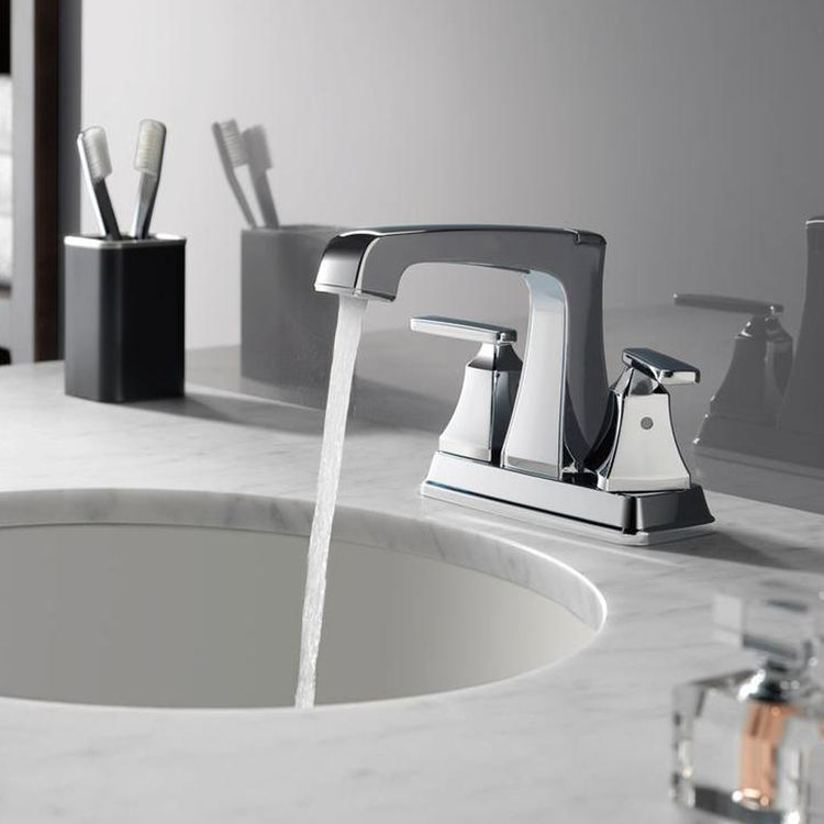 View 3 of Delta 2564-RBMPU-DST Delta 2564-RBMPU-DST Ashlyn Venetian Bronze Two-Handle Lavatory Faucet