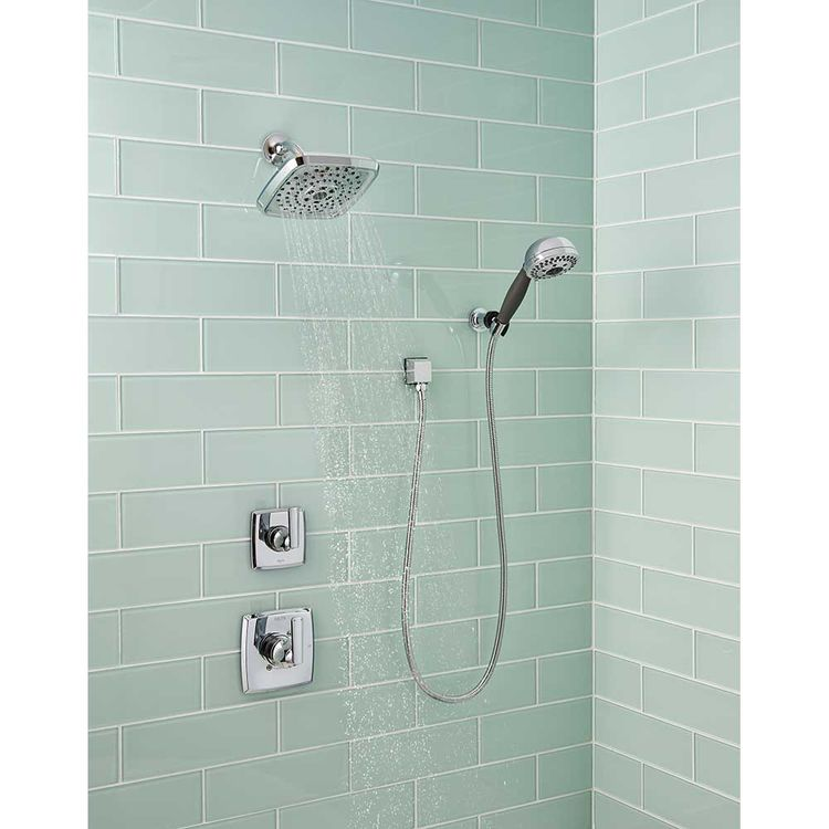 View 3 of Delta T14264-LHD Delta T14264-LHD Chrome Ashlyn Shower Only Trim Less Showerhead