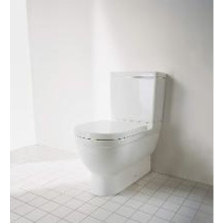 View 3 of Duravit 920400004 Duravit 0920400004 Starck 3 Single-Flush White Toilet Tank with Side Lever