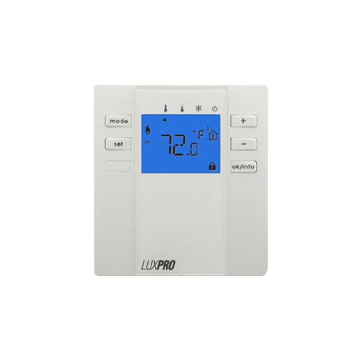 LuxPro P2000F LuxPro P2000F Non Programmable Floor/Slab Thermostat