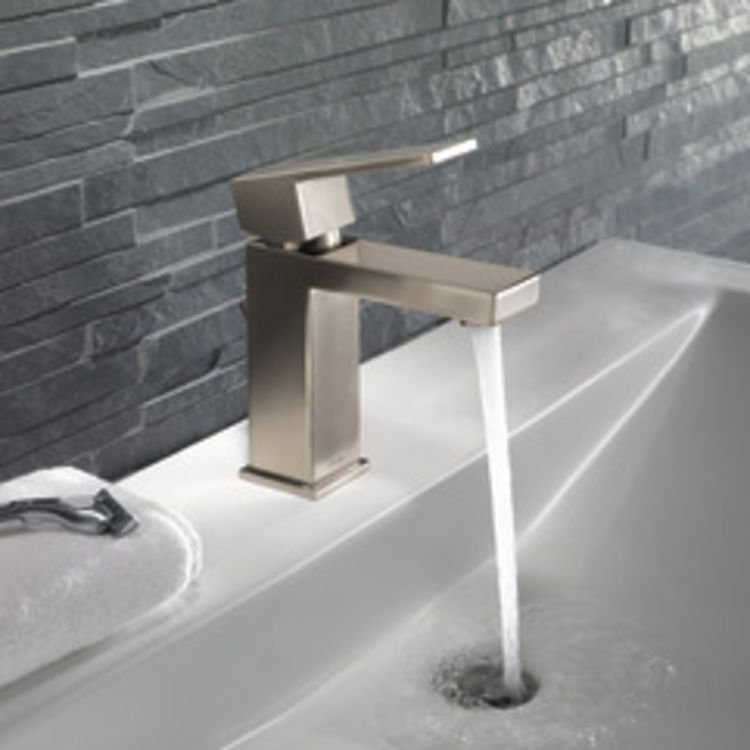 View 4 of Delta 567LF-SSPP Delta 567LF-SSPP Modern Single-Handle Project-Pack Lavatory Faucet, Stainless