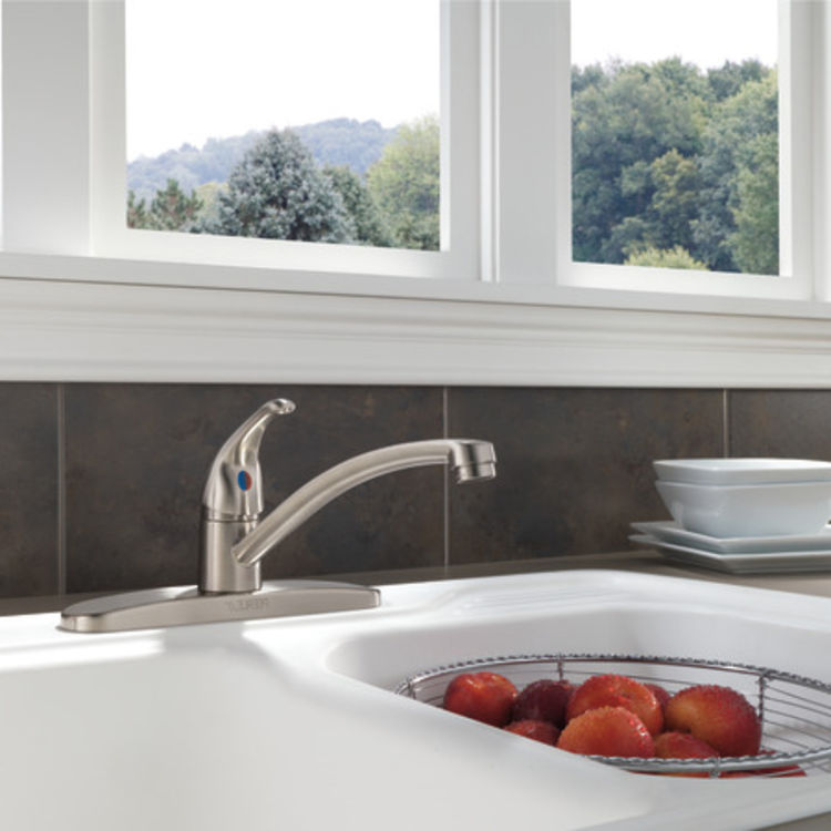 View 5 of Peerless P188201LF-SS Peerless P188201LF-SS TUNBRIDGE Single-Handle Kitchen Faucet - Stainless Steel